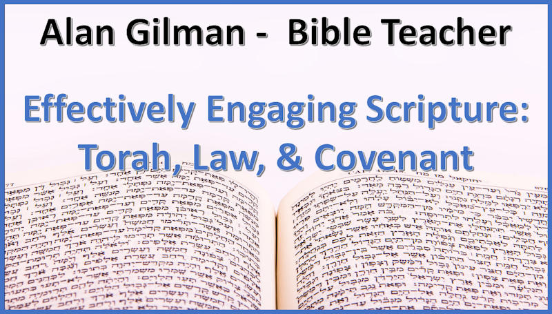 """The words, """"Alan Gilman - Bible Teacher 